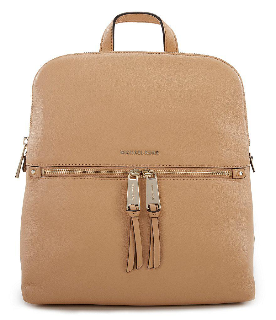... michael michael kors multicolor rhea slim backpack lyst. view  fullscreen ... 337c2102599c1
