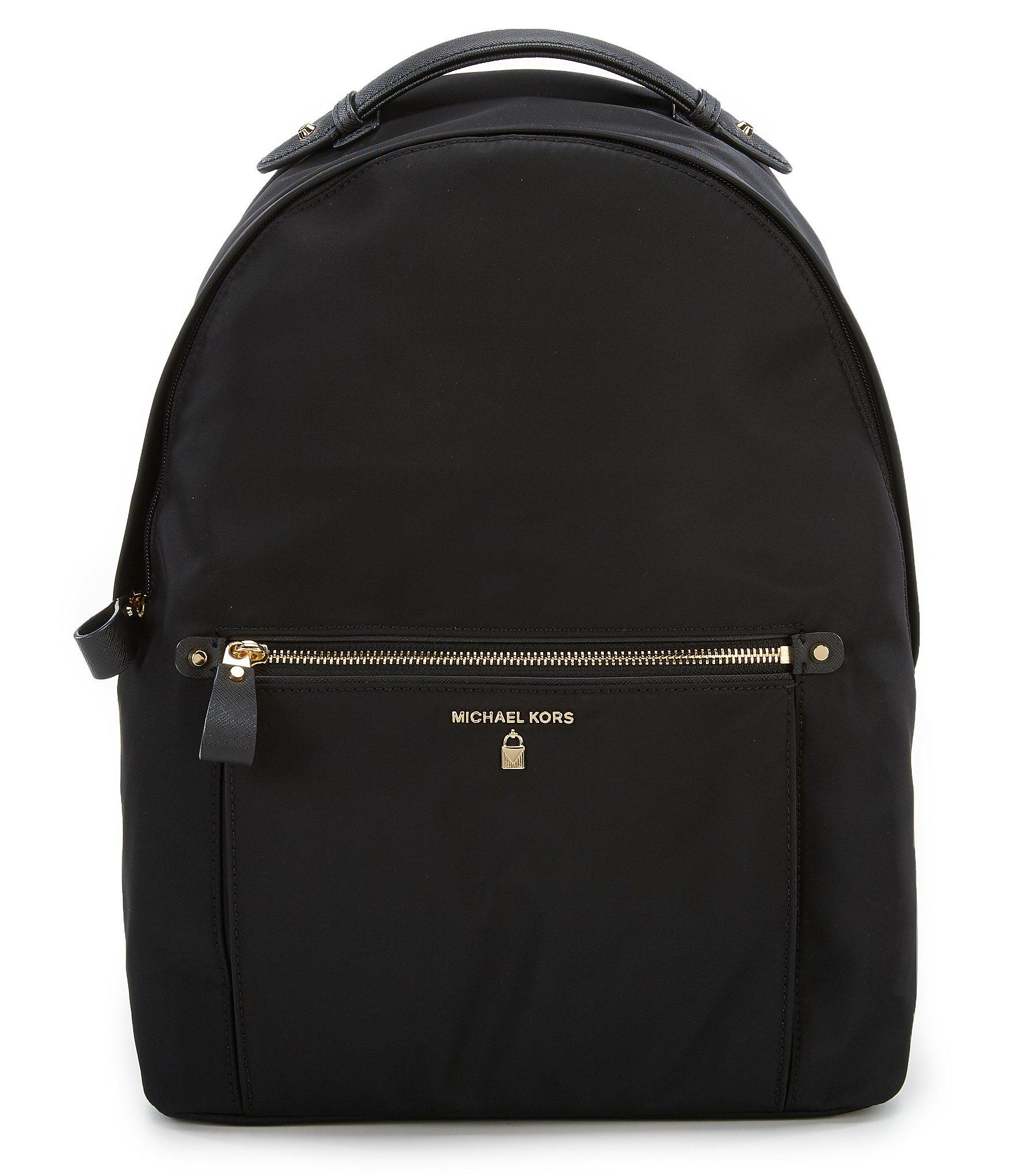 b852a8b21e32 Lyst - MICHAEL Michael Kors Kelsey Nylon Large Backpack in Black