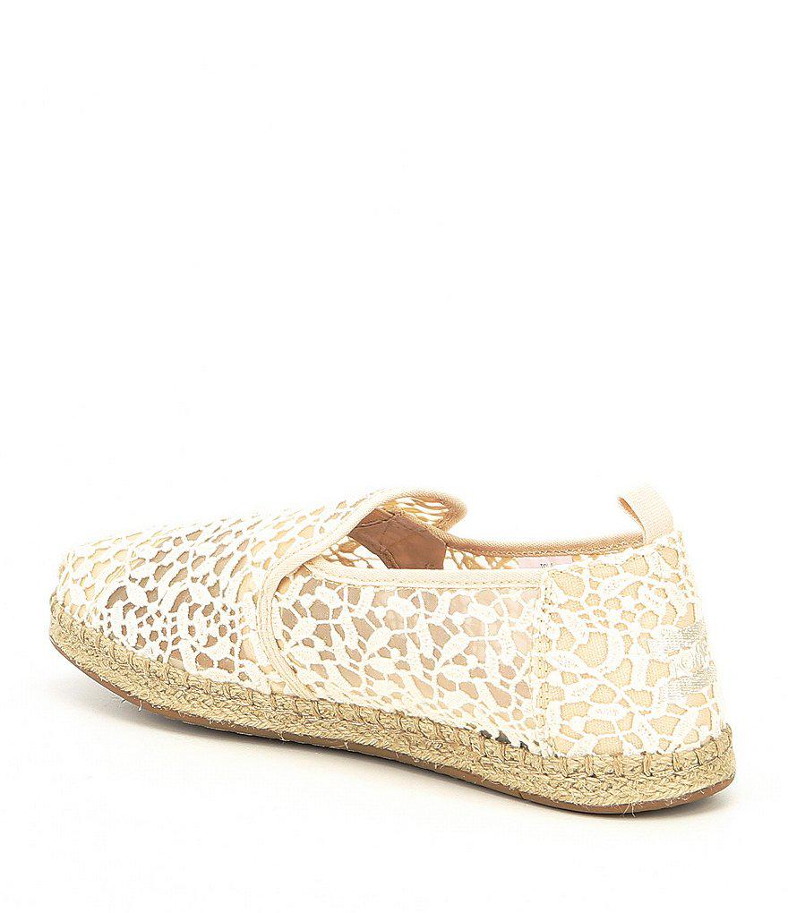Women's Deconstructed Lace Leaves Alpargata Espadrilles baNzwyA