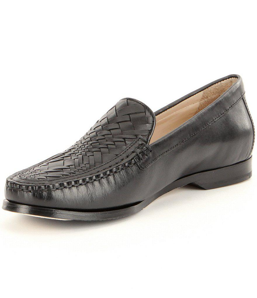 Cole Haan Women's Pinch Genevieve Woven Leather Loafers emRZY