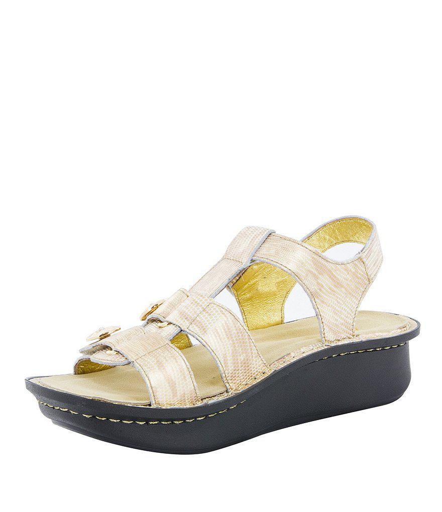 Alegria Kleo Metallic Sandals UzsIvJW
