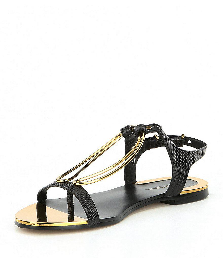 Donna Karan Kaden Thong Sandals X0hgS8YMmB