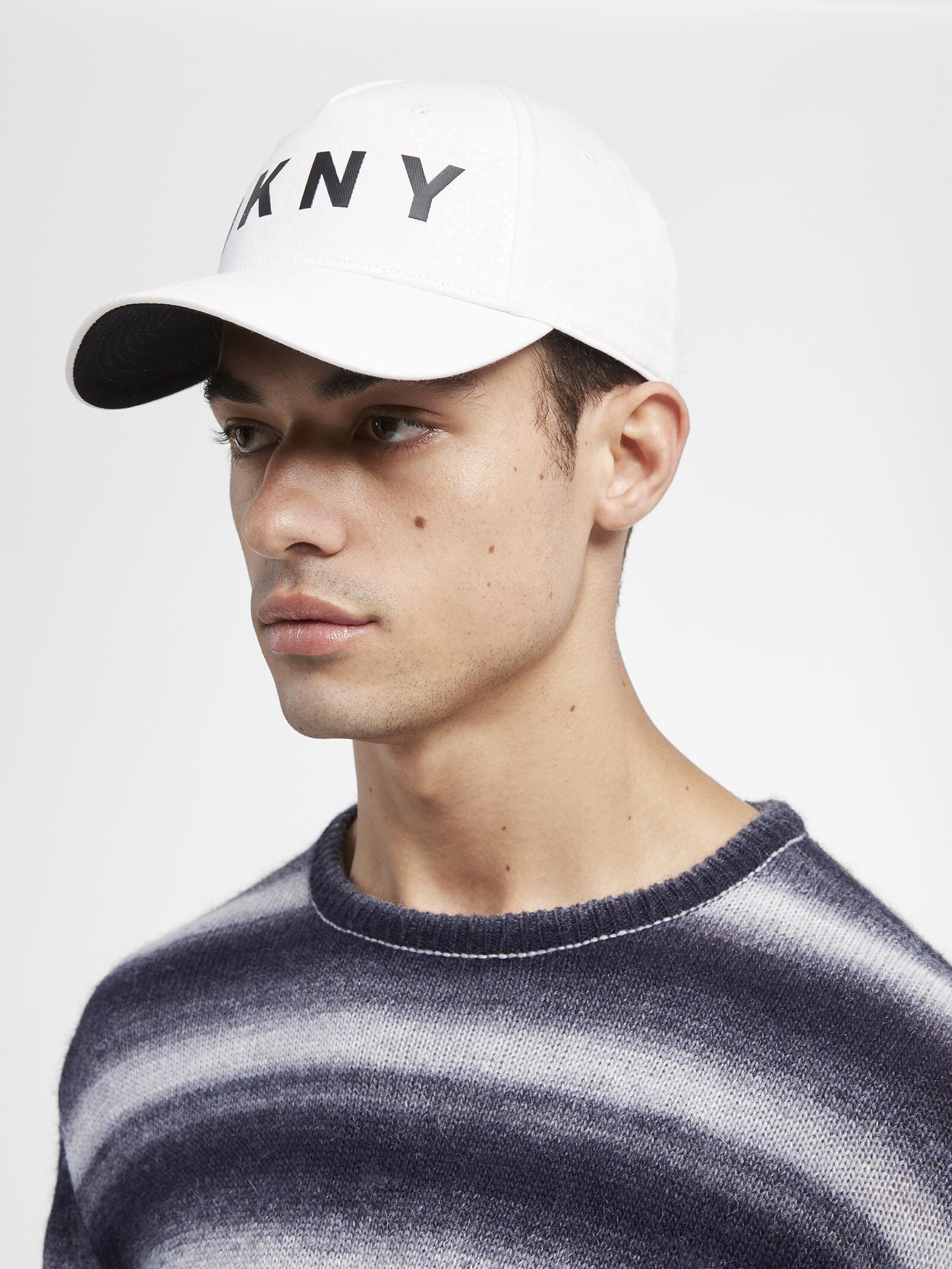 DKNY - White Classic Logo Hat - Lyst. View fullscreen e03aad968e1e