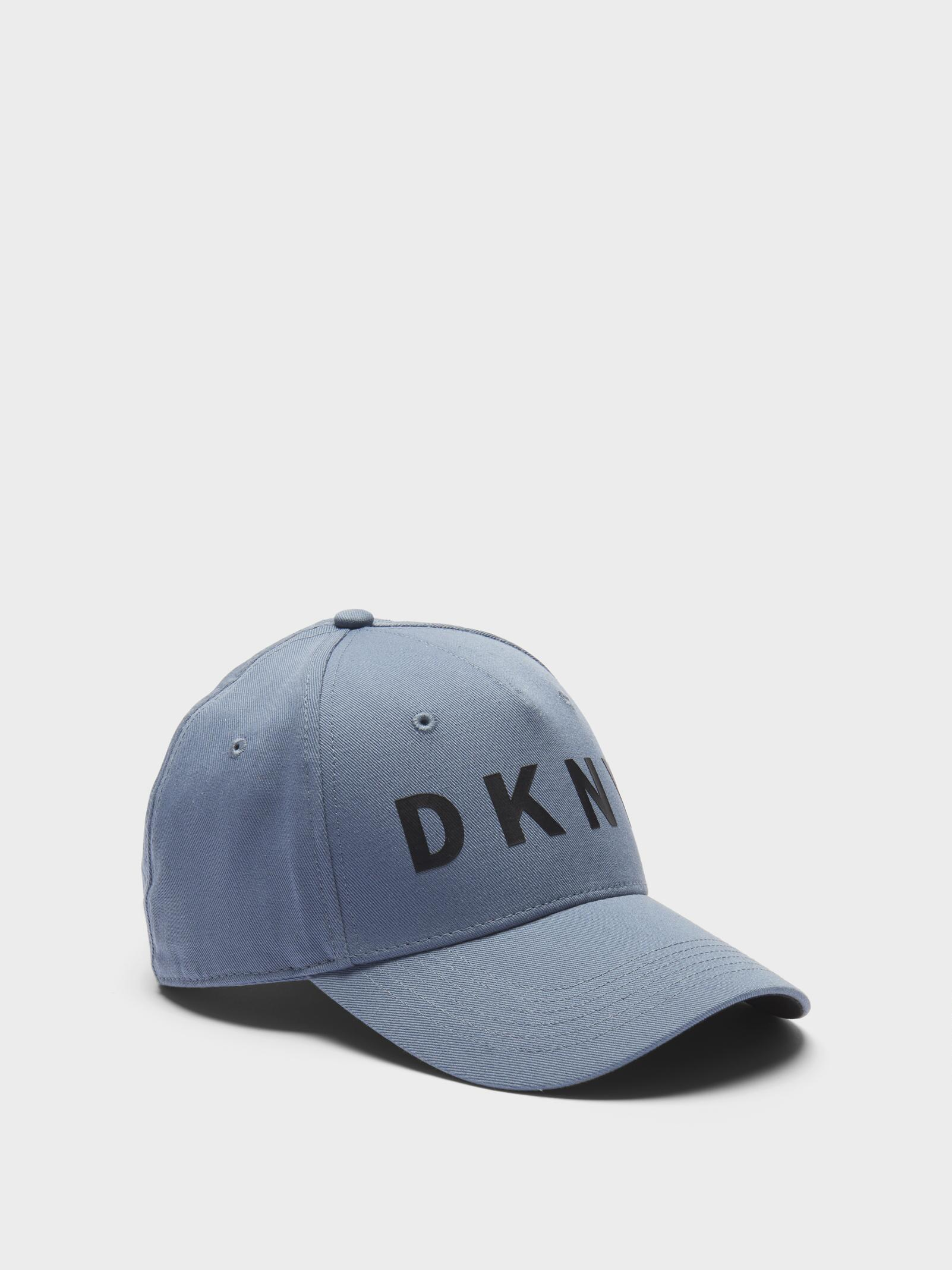 e3d5fccb2a1 Lyst - DKNY Classic Logo Hat in Blue