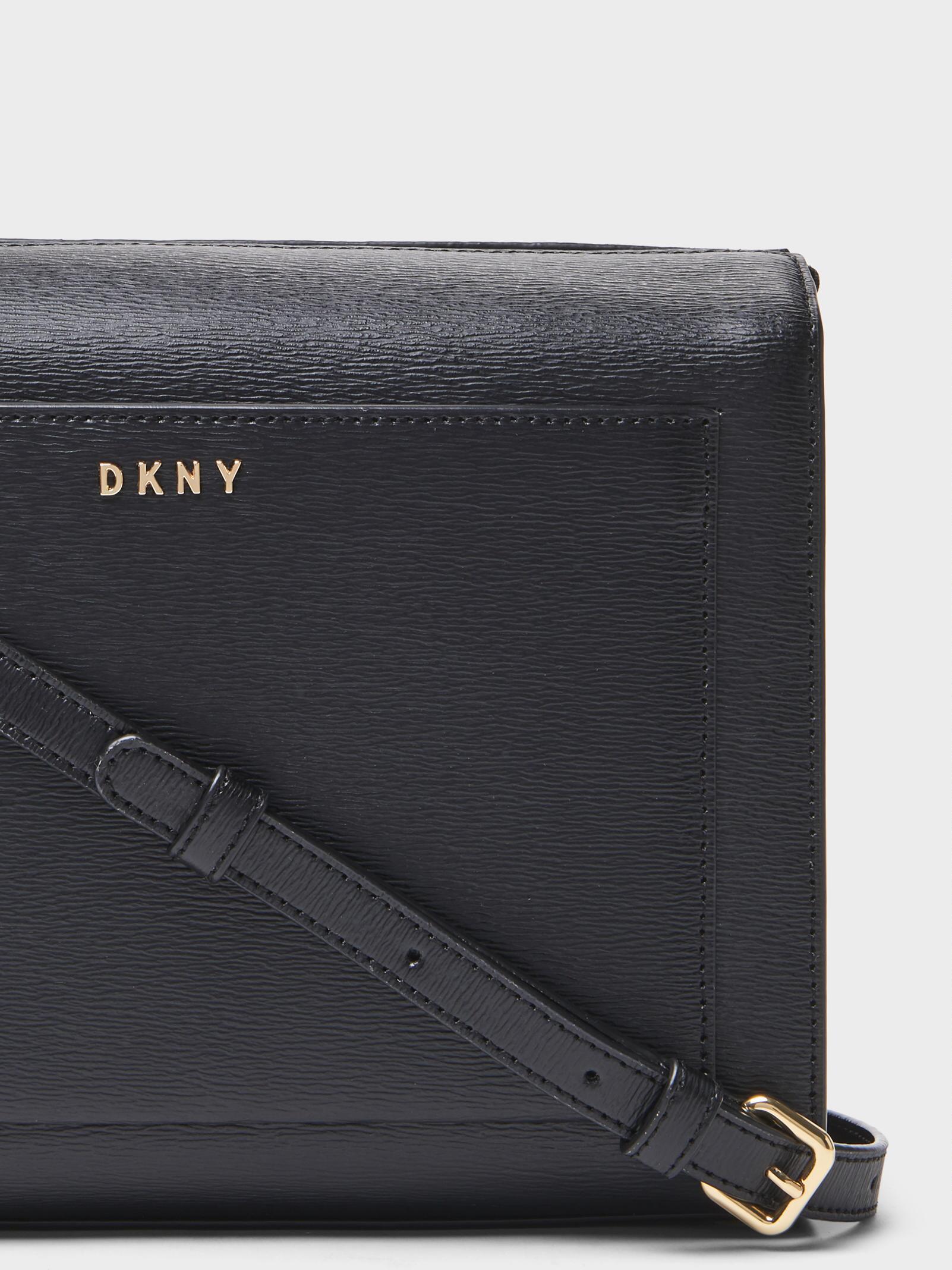 e72e370934e1 Lyst - DKNY Sutton Medium Box Crossbody in Black