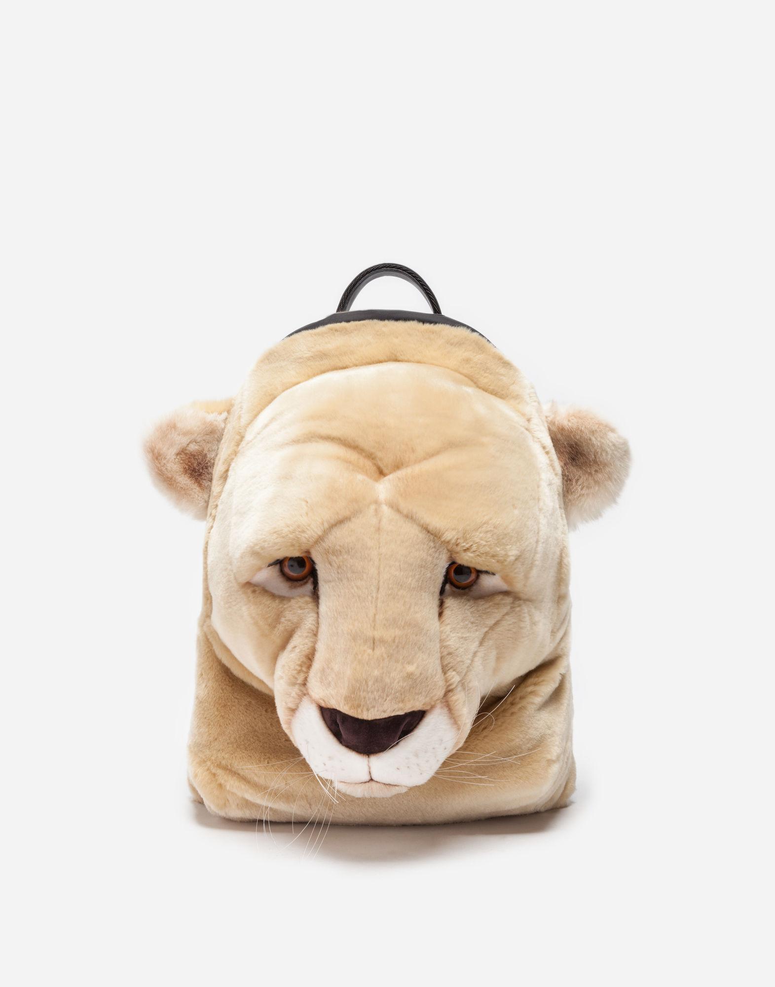 Dolce & Gabbana Orso faux fur backpack Buy Cheap Sale Vgqp3kS0Iu