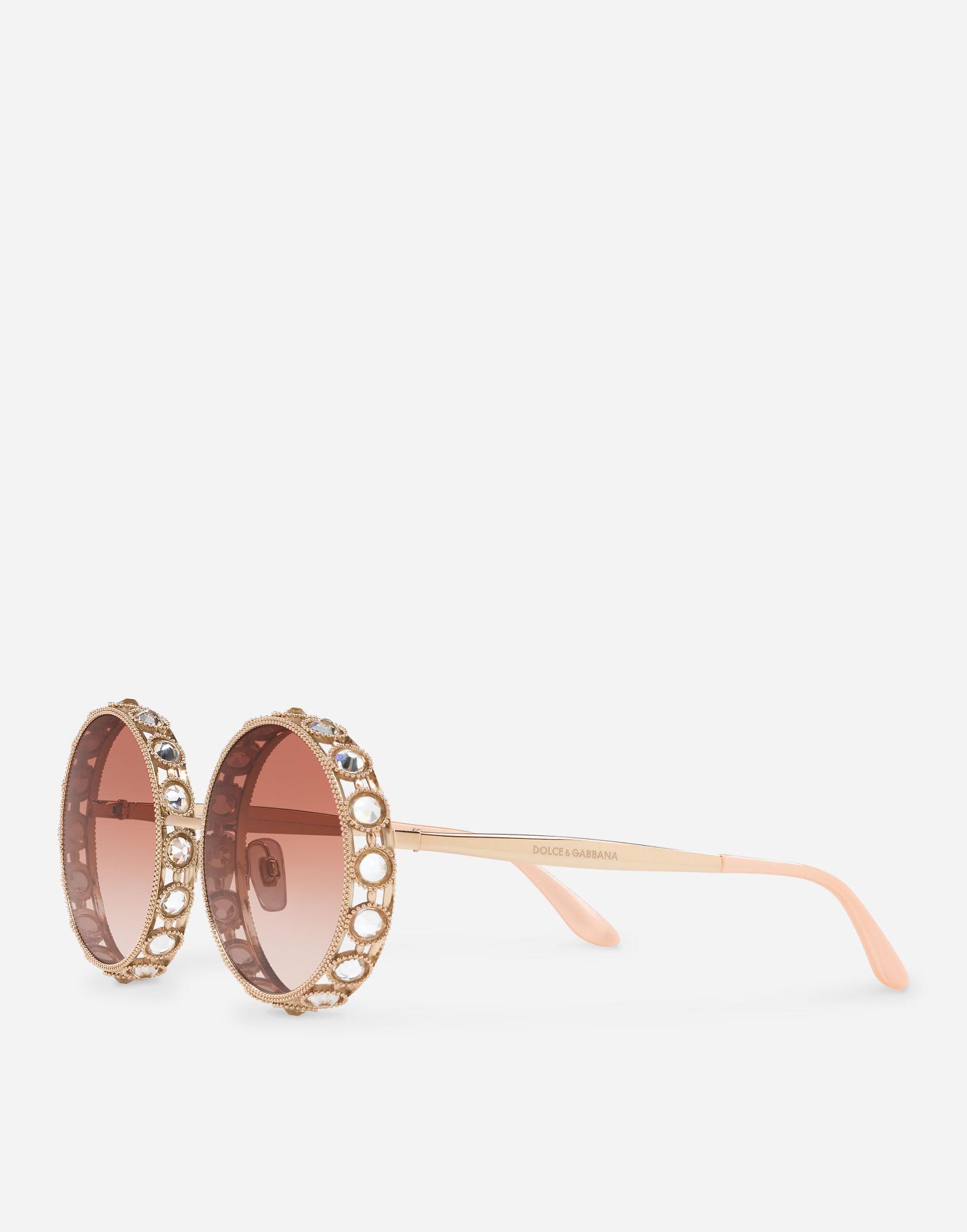 145f14839ab8 Lyst - Dolce   Gabbana Mambo Sunglasses in Pink