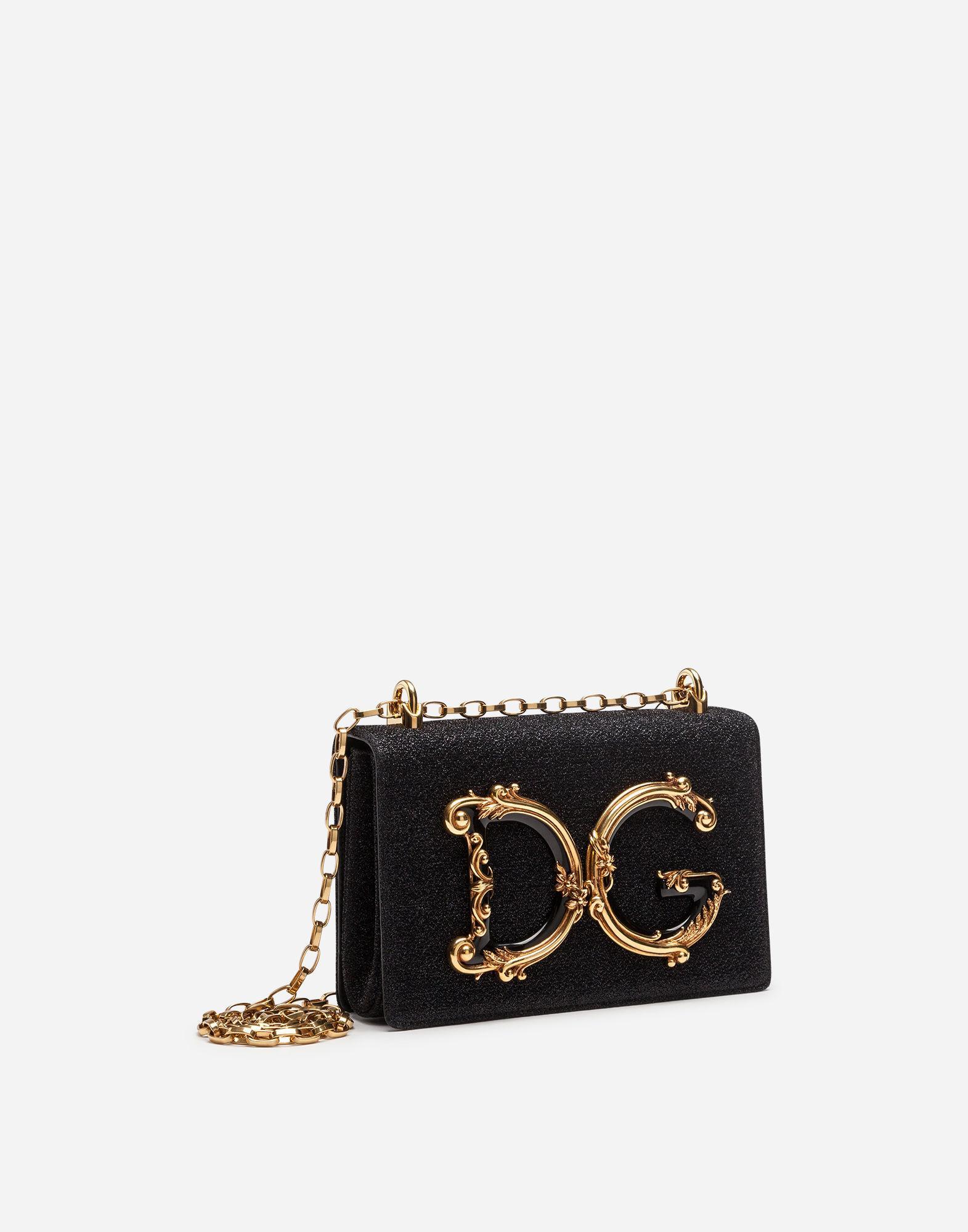 1f9878e88664 Lyst - Dolce   Gabbana Dg Girls Shoulder Bag In Nappa Leather in Black -  Save 5%