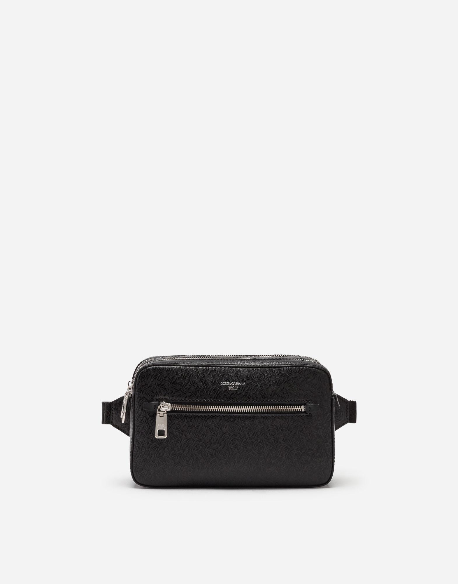 Lyst - Dolce   Gabbana Gothic Pouch In Calfskin in Black for Men dd64c46533