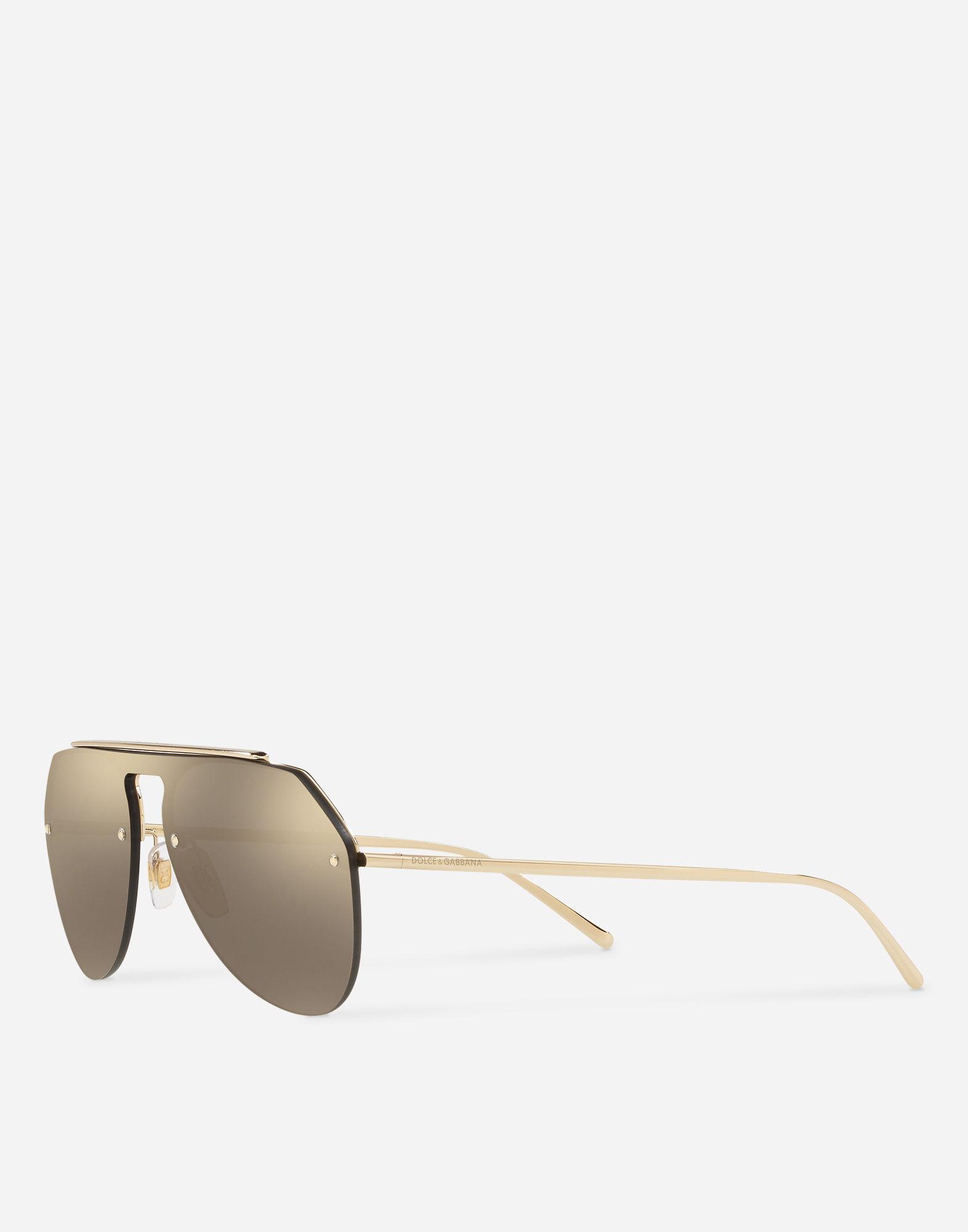7781baf53544 Lyst - Dolce   Gabbana Royal Sunglasses in Metallic for Men