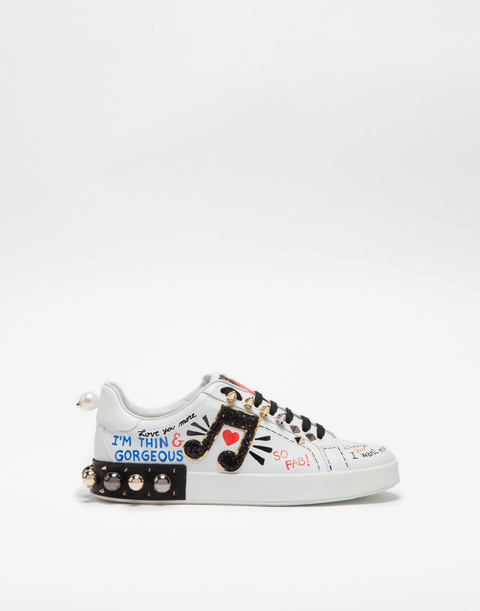 Dolce & Gabbana Logo print sneakers 4QOJn