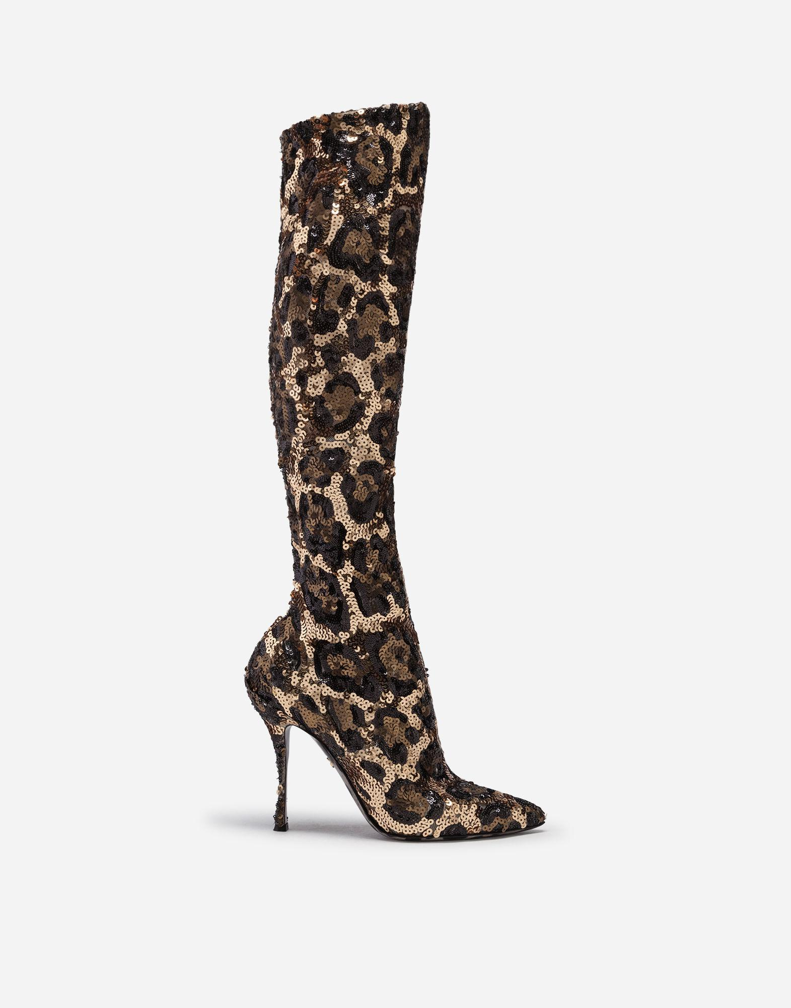 831d6649f10c Dolce   Gabbana. Women s Sequined Boots
