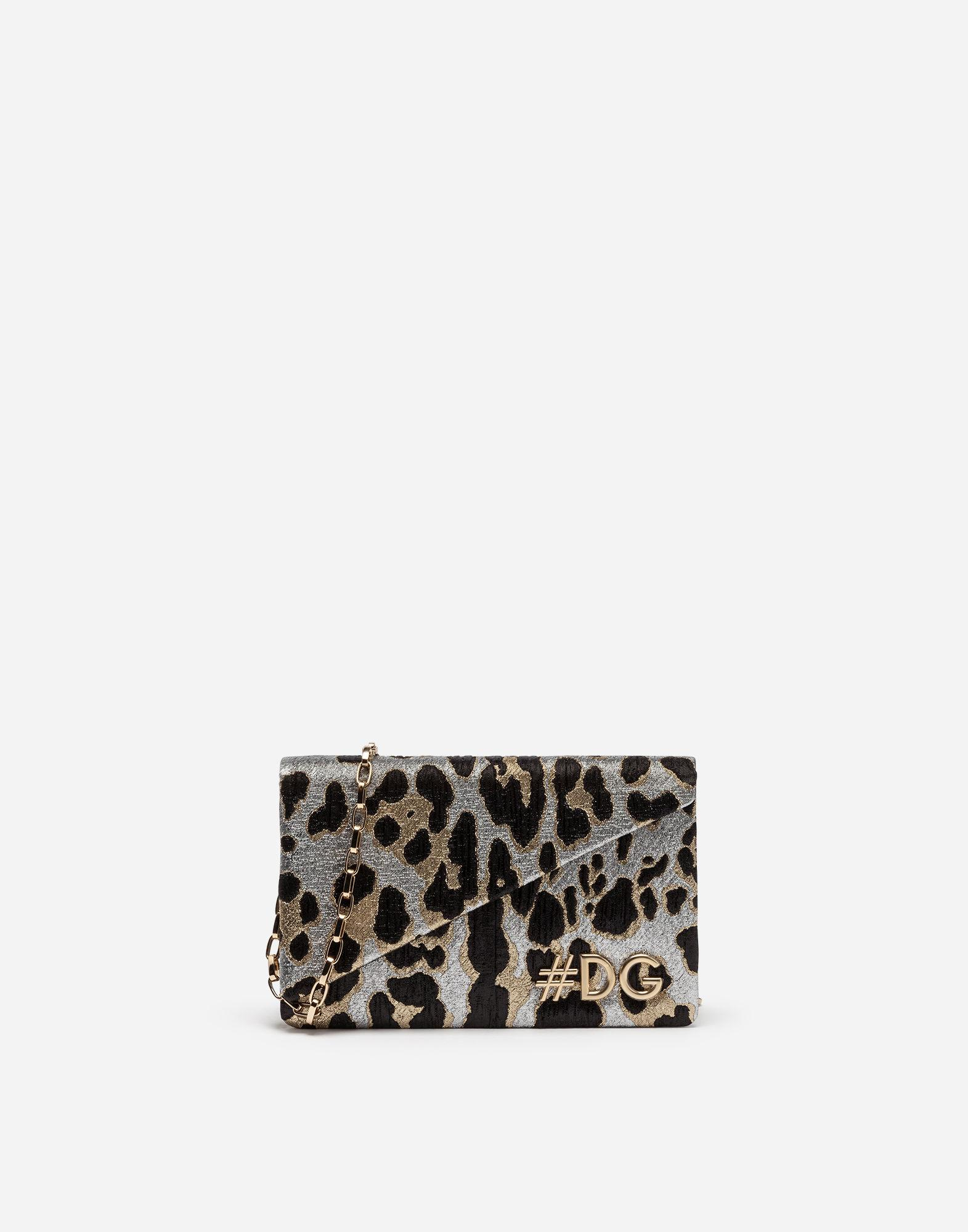 e2a24d09ee Dolce   Gabbana - Multicolor Dg Girls Clutch In Leopard Jacquard - Lyst