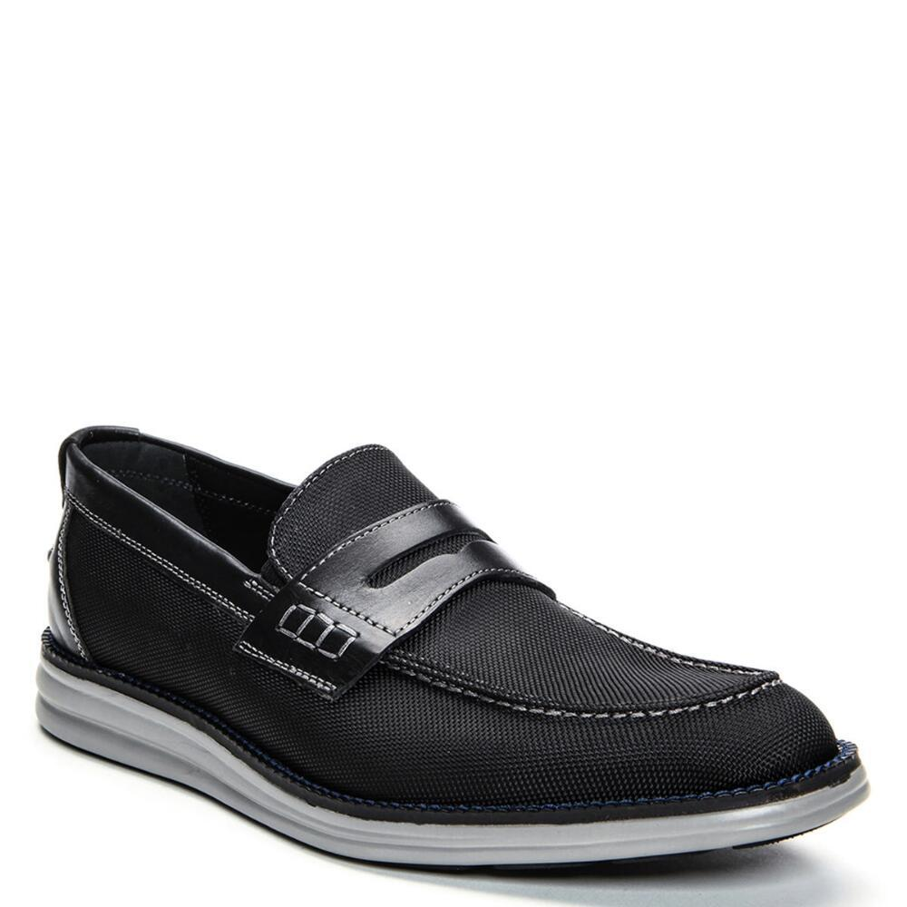 Donald J Pliner King Fabric Loafer In Black For Men Lyst