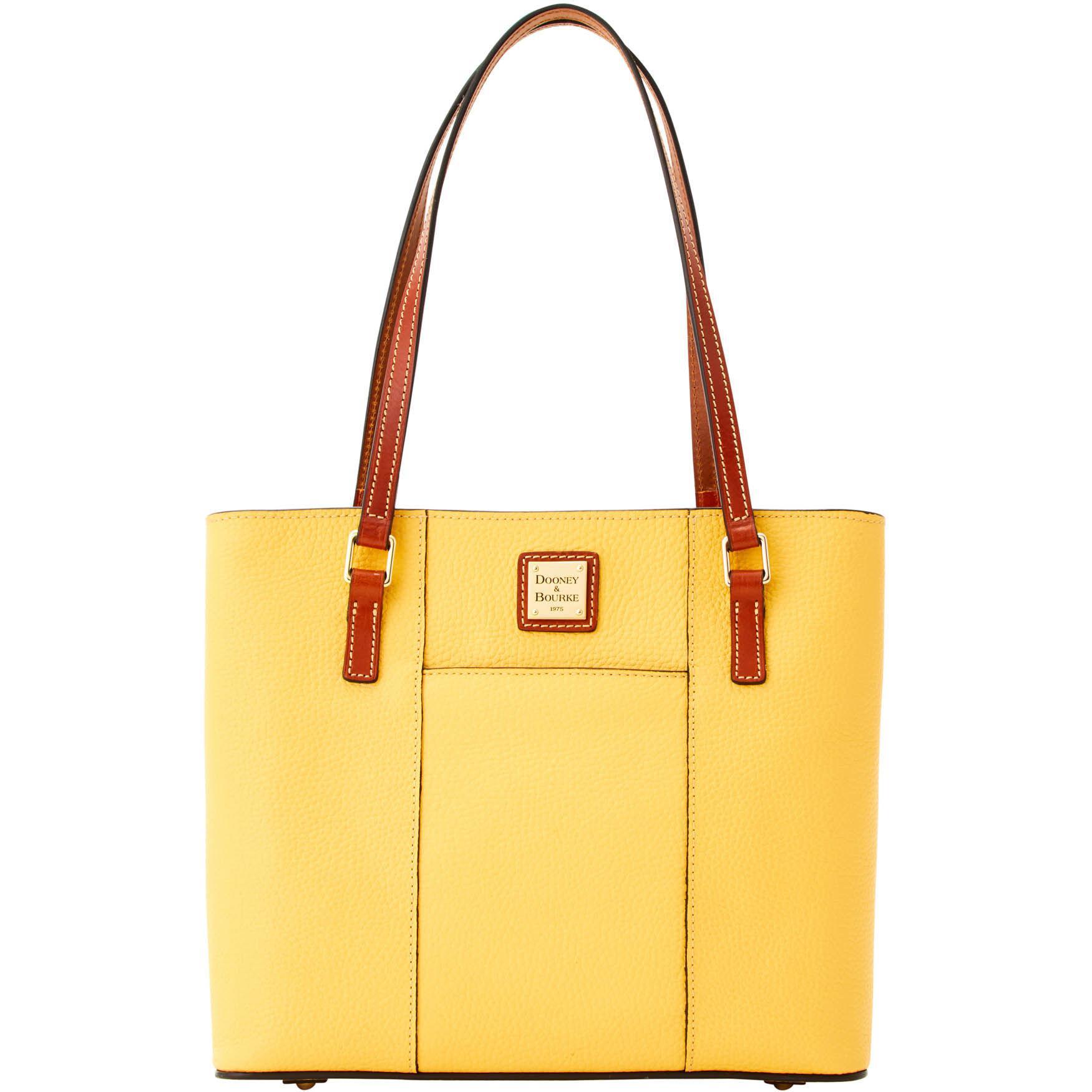3d06fd4bab0a Dooney   Bourke. Women s Yellow Pebble Grain Small Lexington Shopper