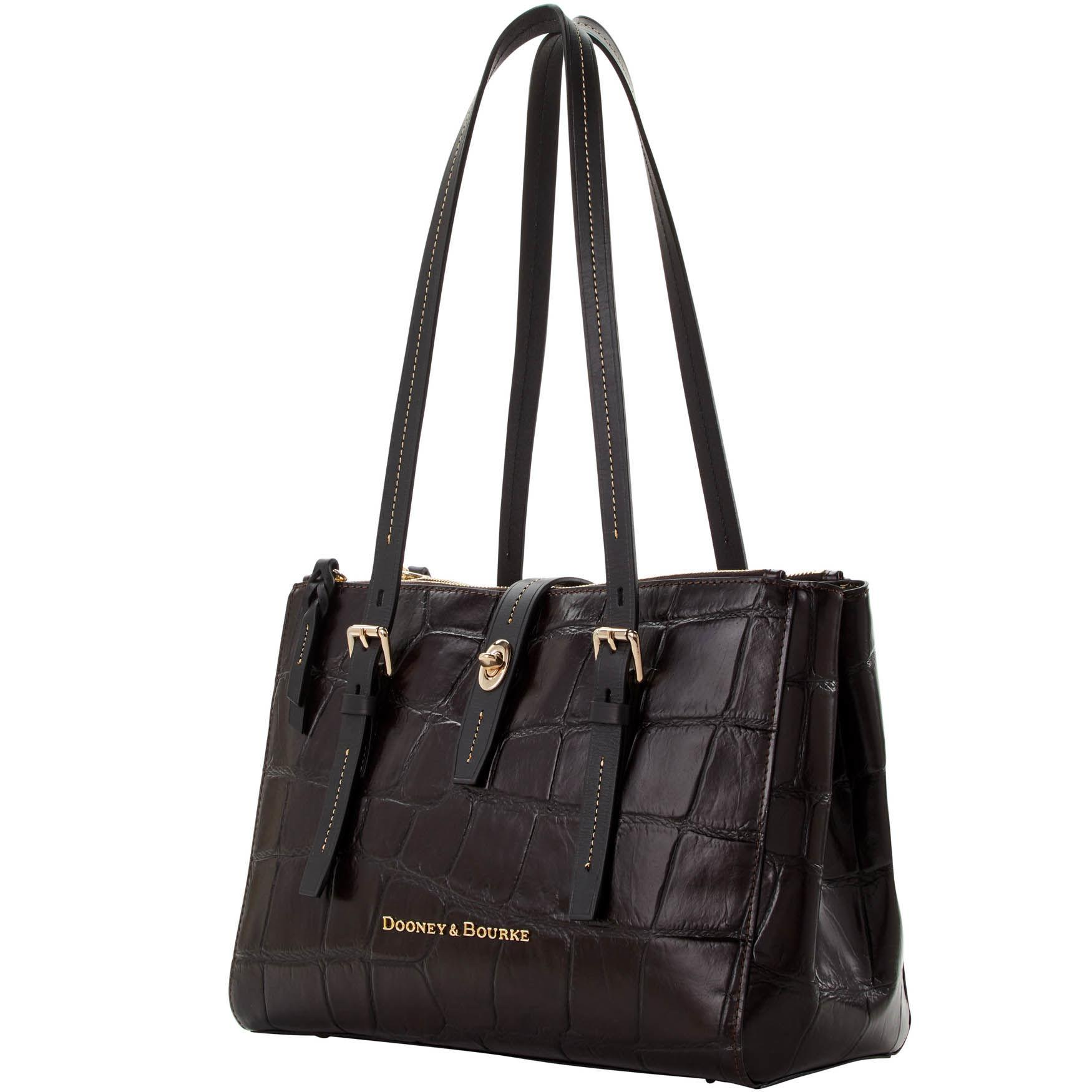 b7e7deddd5a Dooney   Bourke - Black Denison Miller Shopper - Lyst. View fullscreen