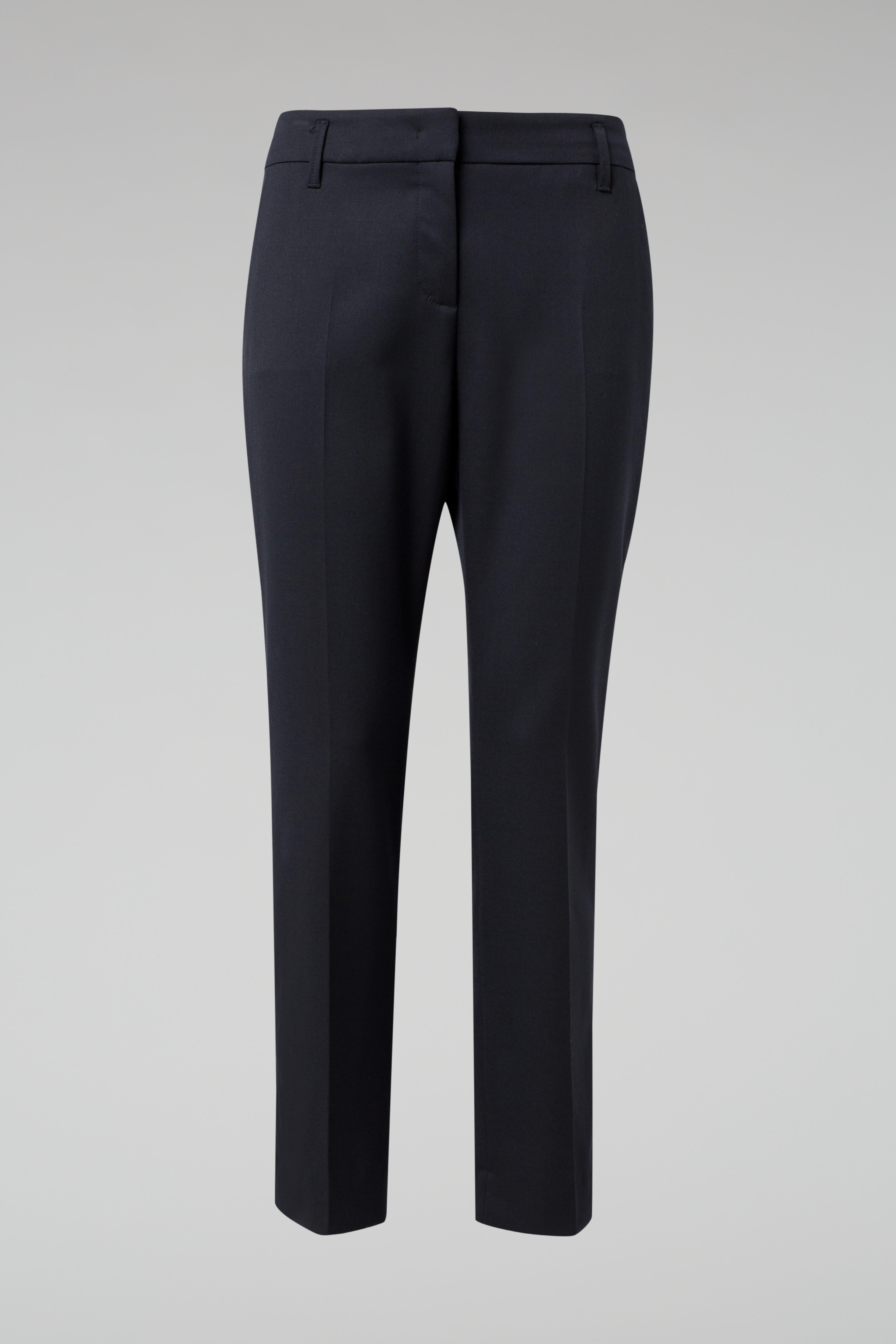 COOL AMBITION classic loose fit pants with satinpiping 4 Dorothee Schumacher