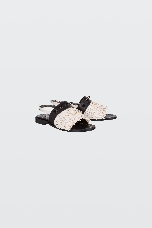 FRINGED AMBITION fringed flat sandal 38 Dorothee Schumacher Mit Paypal Freiem Verschiffen Footlocker Finish Günstiger Preis Verkauf Günstig Online Rabatt Authentisch cYCt4L
