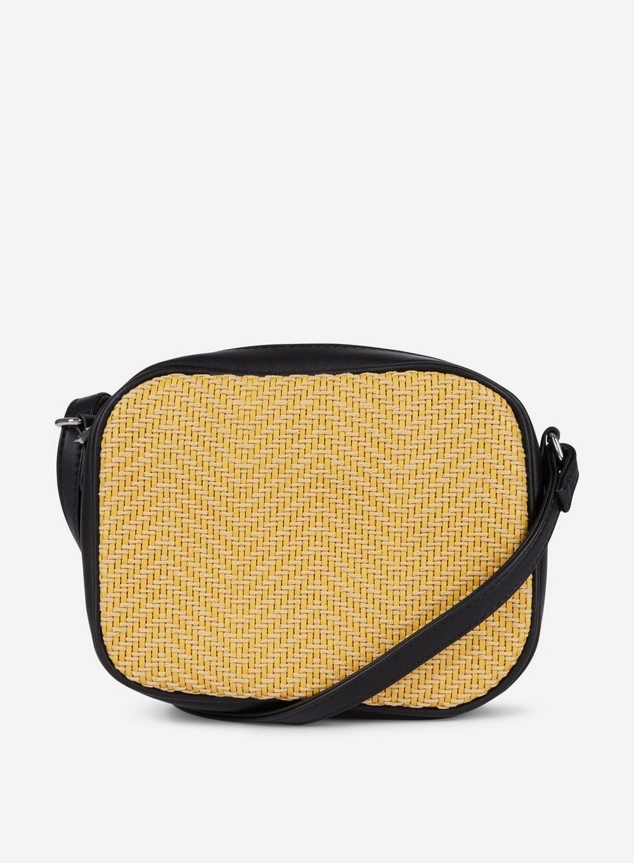 c87622be11 Dorothy Perkins Pieces Lemon  bitten  Cross Body Bag in Yellow - Lyst