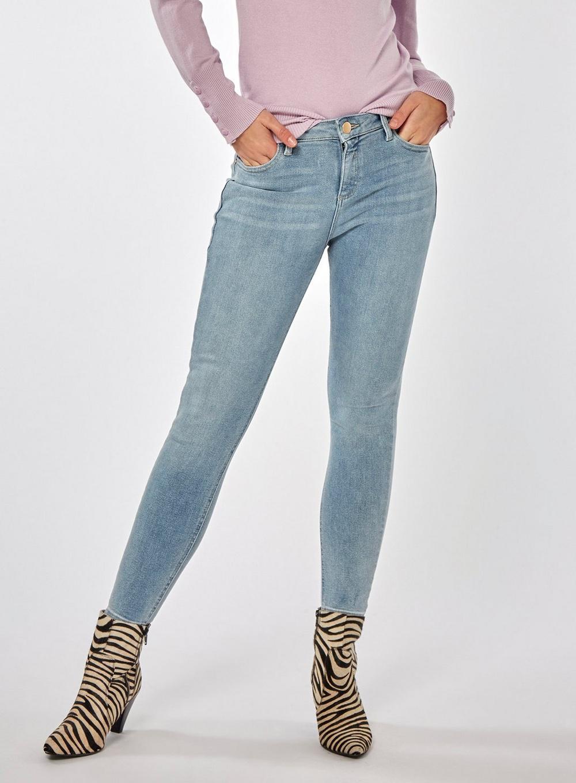 a953875de8f Dorothy Perkins Lightwash Premium 'darcy' Skinny Ankle Grazer Jeans ...