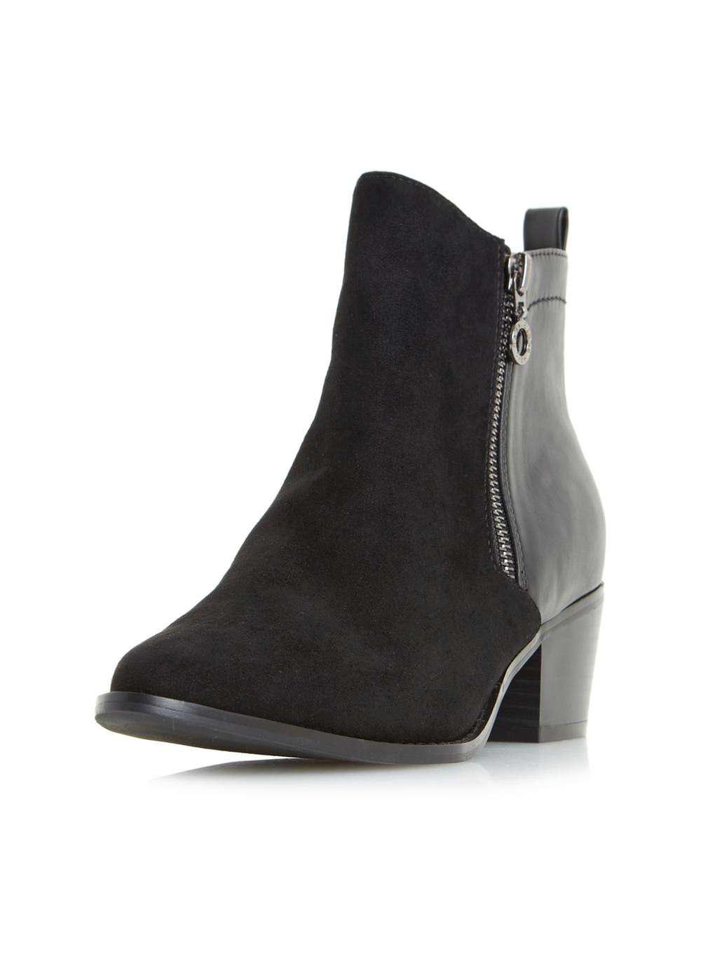 Footaction Dorothy Perkins Womens *Head Over Heels by Dune 'Pascalle' Ankle Boots- Real r4ec796z9U