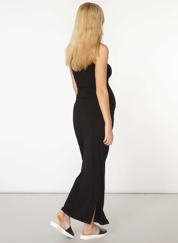 dorothy perkins maternity black skirt in black lyst