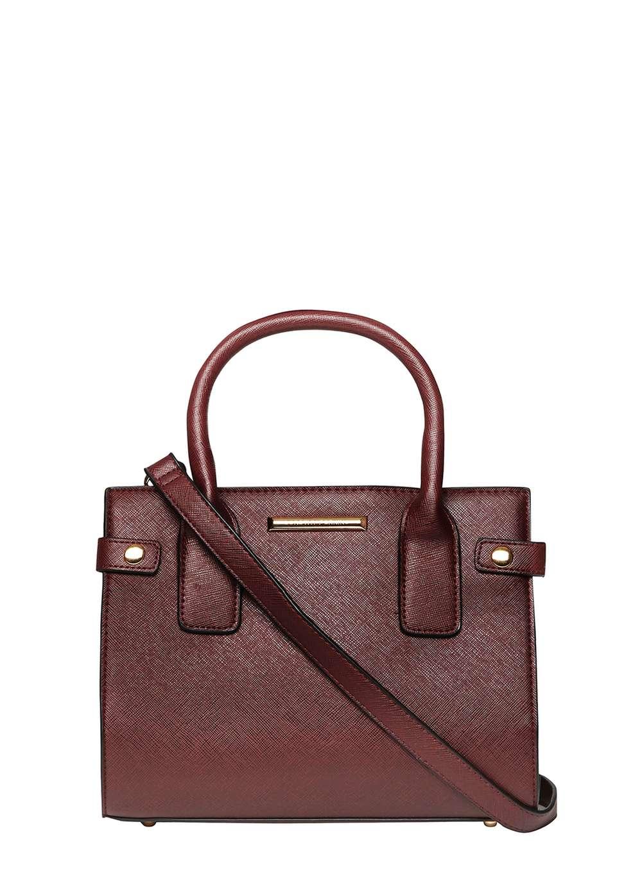 Dorothy perkins Berry Mini Tab Tote Bag in Red
