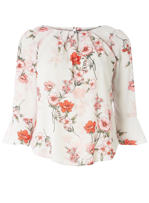 Magasin De Vente Dorothy Perkins Billie & Blossom Petite Multi Coloured Floral Shell Top Vente Confortable 6kVXZvo
