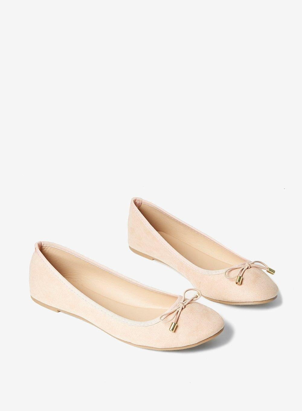 e4c5562a01a9 Gallery. Previously sold at  Dorothy Perkins · Women s Nude Ballerina Pumps  ...