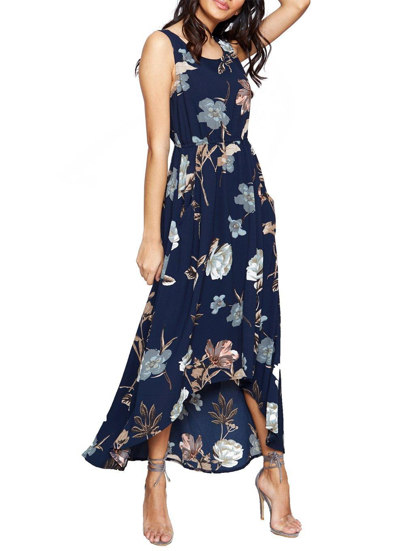 Printed Maxi Lyst Vanilla Hi Dorothy Blue Low Dress Perkins xdBCorWe