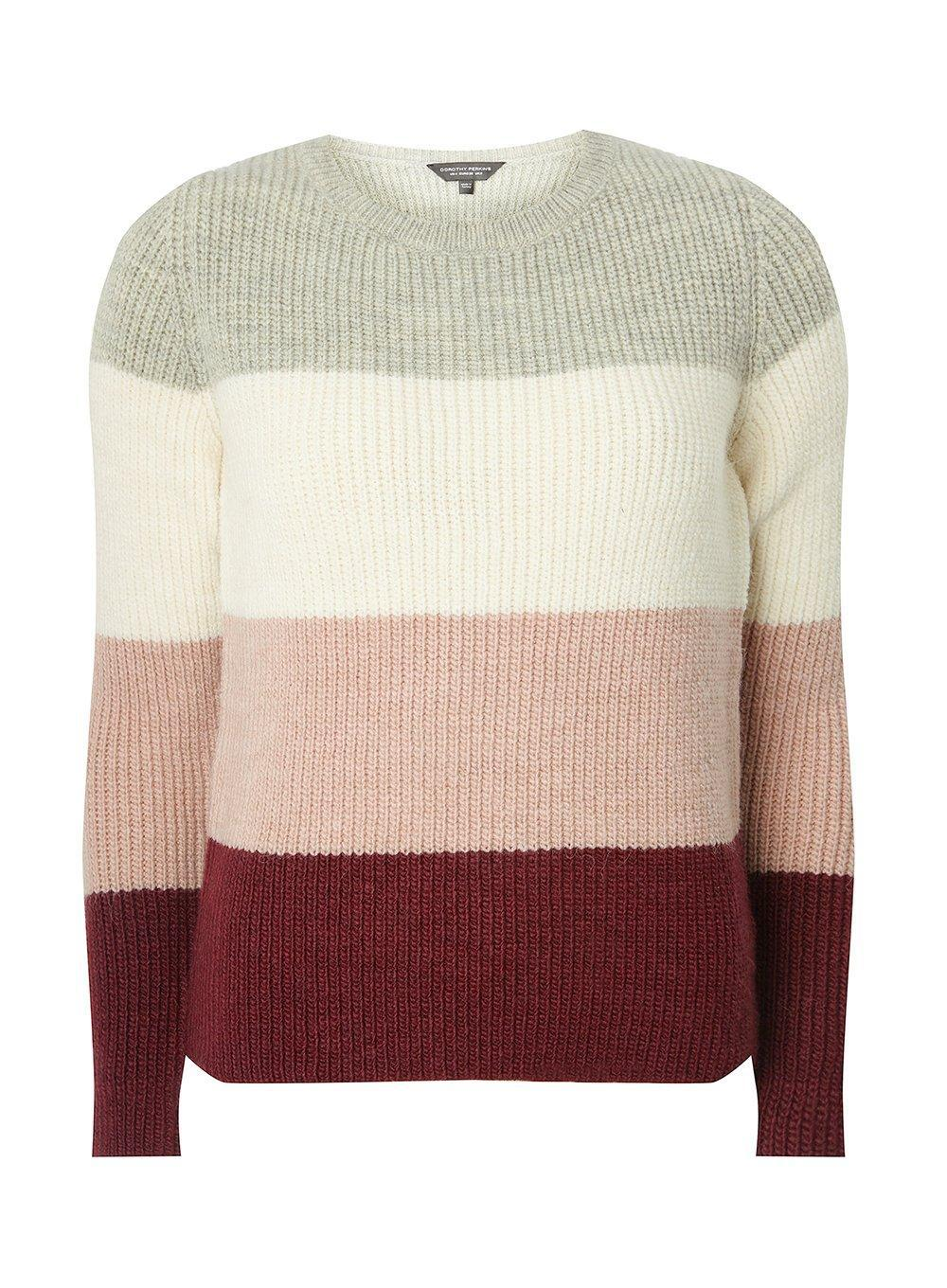 Dorothy Pink Jumper Gray Lyst And Stripe Grey Perkins In ZZwAq4x