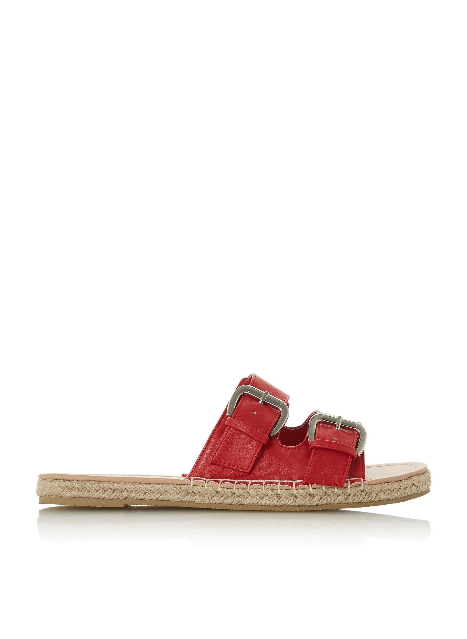 ca732fc77a71 Lyst - Dune By Dune Red  laurens  Ladies Flat Sandals in Red