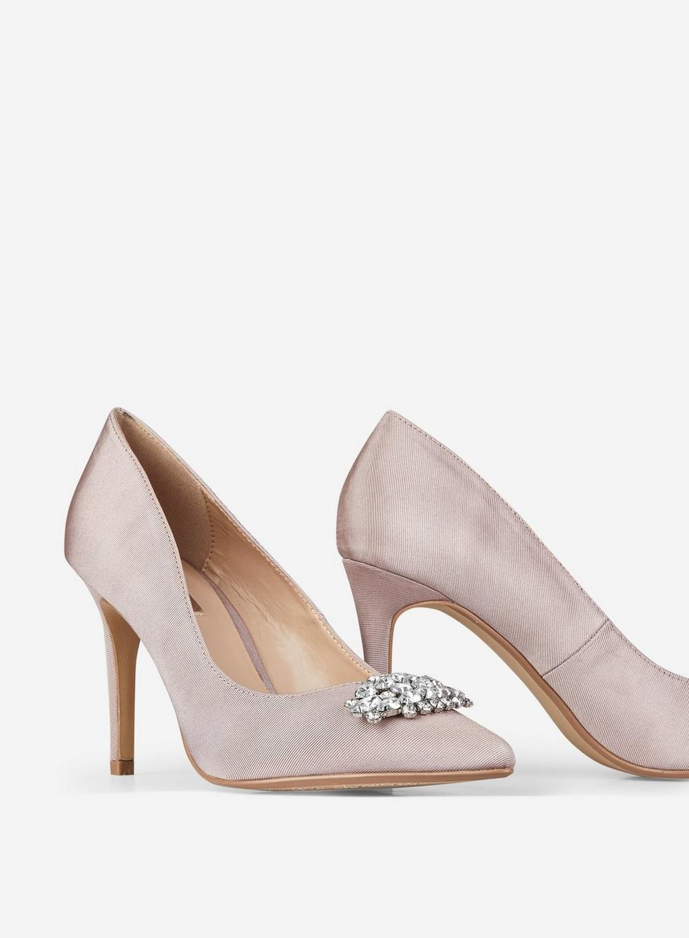 16729d3813d5 Lyst - Dorothy Perkins Showcase Blush Gracias Court Shoes in Pink