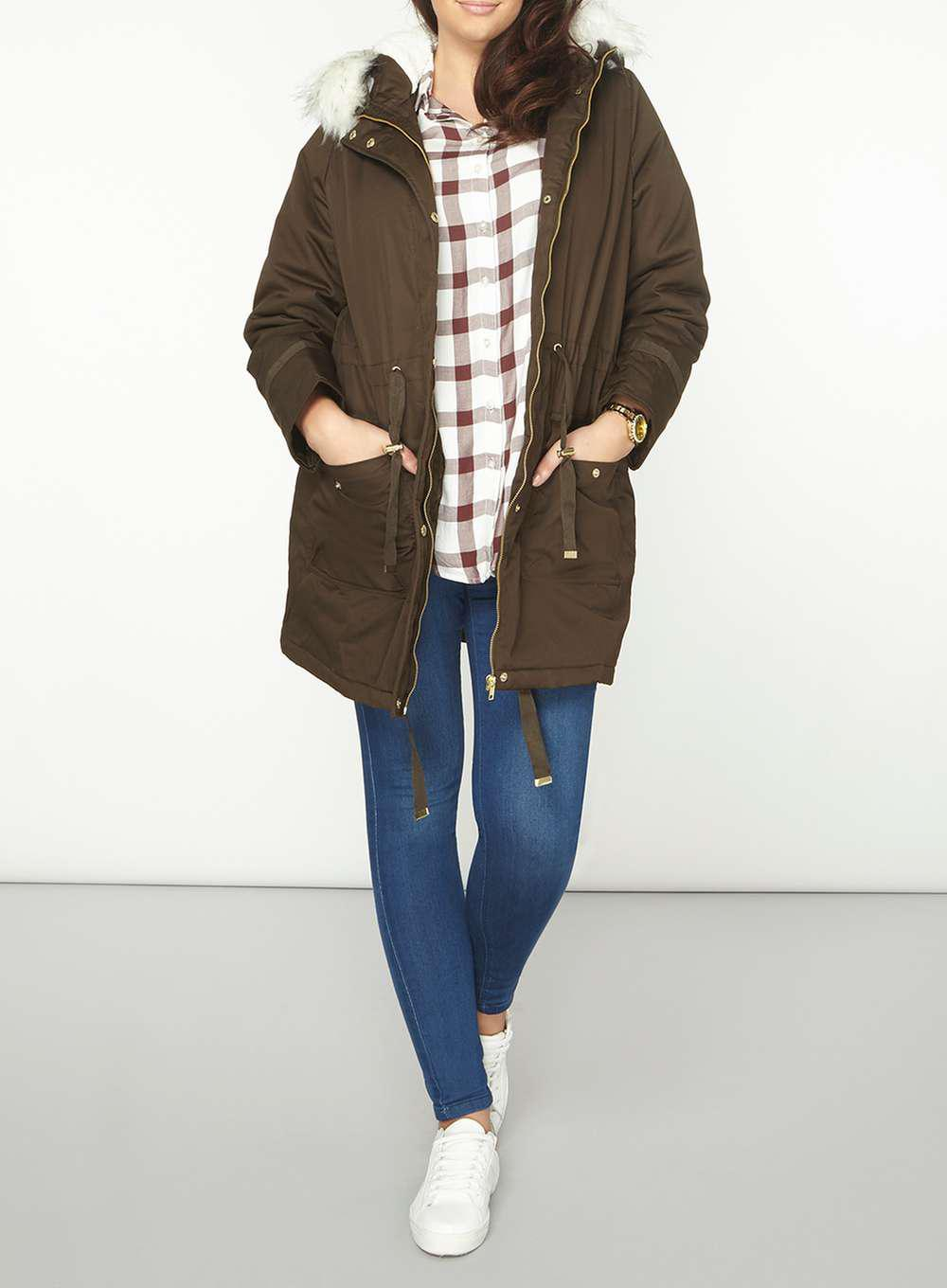 35752b754bf Gallery. Previously sold at  Dorothy Perkins · Women s Waterfall Coats ...