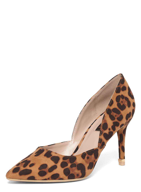 b657b731273 Dorothy Perkins Leopard Print  eliza  Court Shoes - Lyst