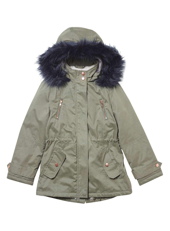 7fb161fdb956 Dorothy Perkins Girls Green Padded Coat (5 - 12 Years) in Green - Lyst