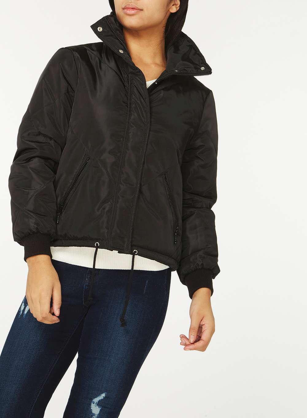Dorothy Perkins Womens **Noisy May Funnel Neck Jacket- For Cheap Cheap Online Discount Affordable Discount Newest Sale Find Great fLxYdS5oS