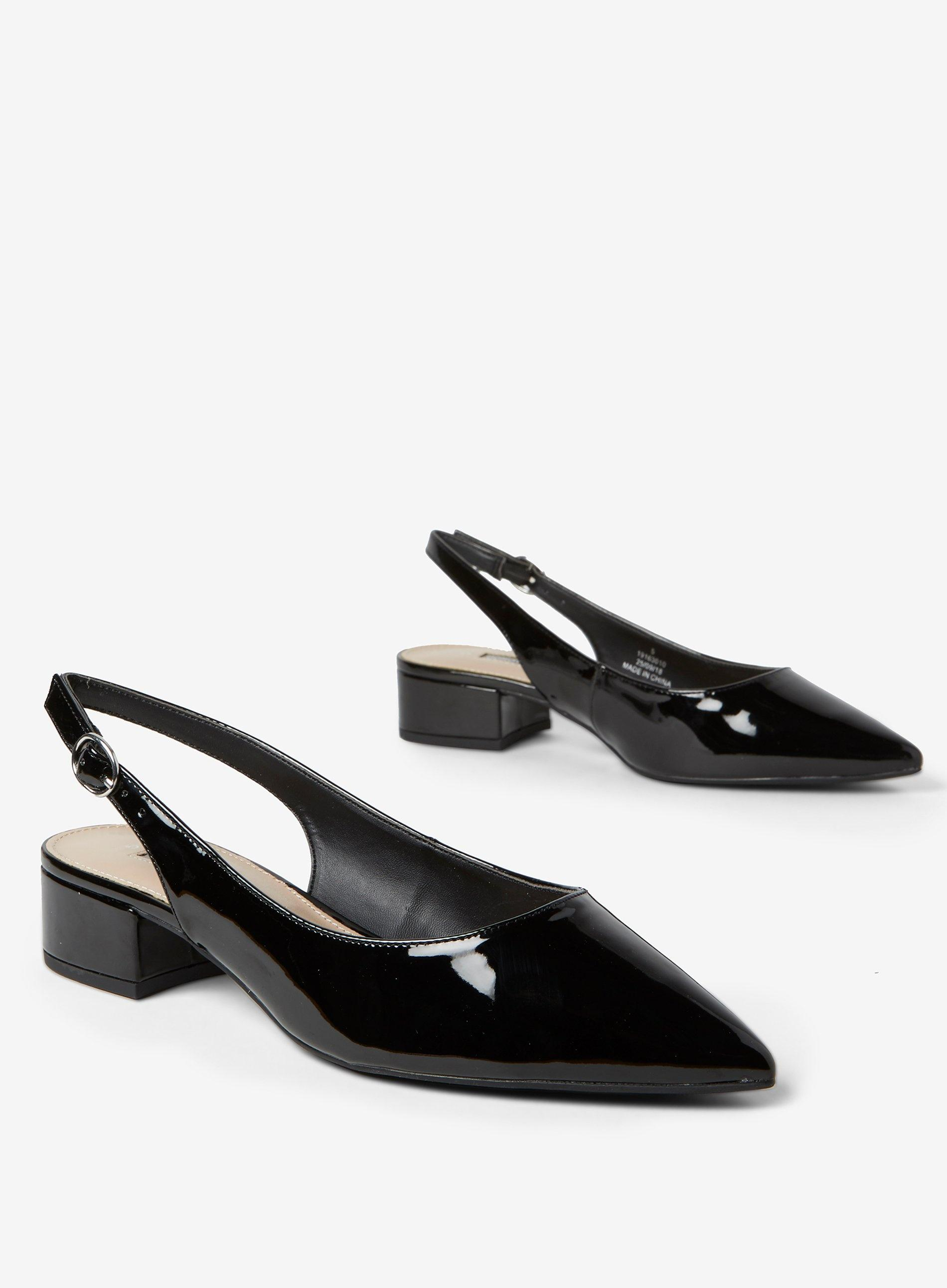 3506ed1946 Dorothy Perkins - Black 'daphne' Block Heel Court Shoes - Lyst. View  fullscreen