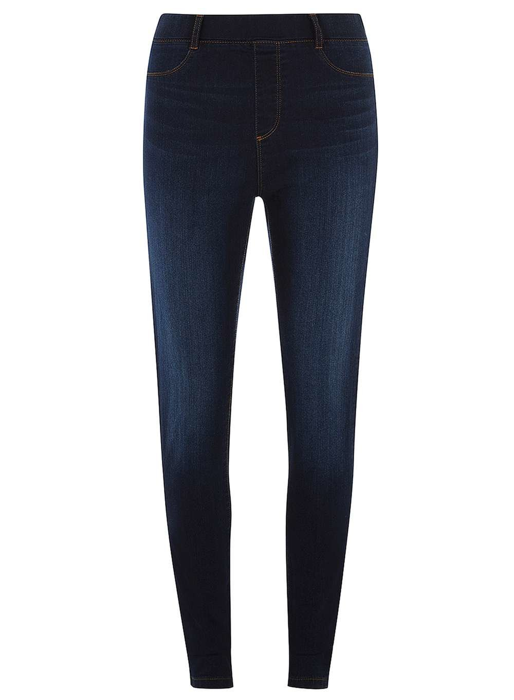 43629a27237ab Lyst - Dorothy Perkins Indigo High Waisted 'eden' Jeggings in Blue