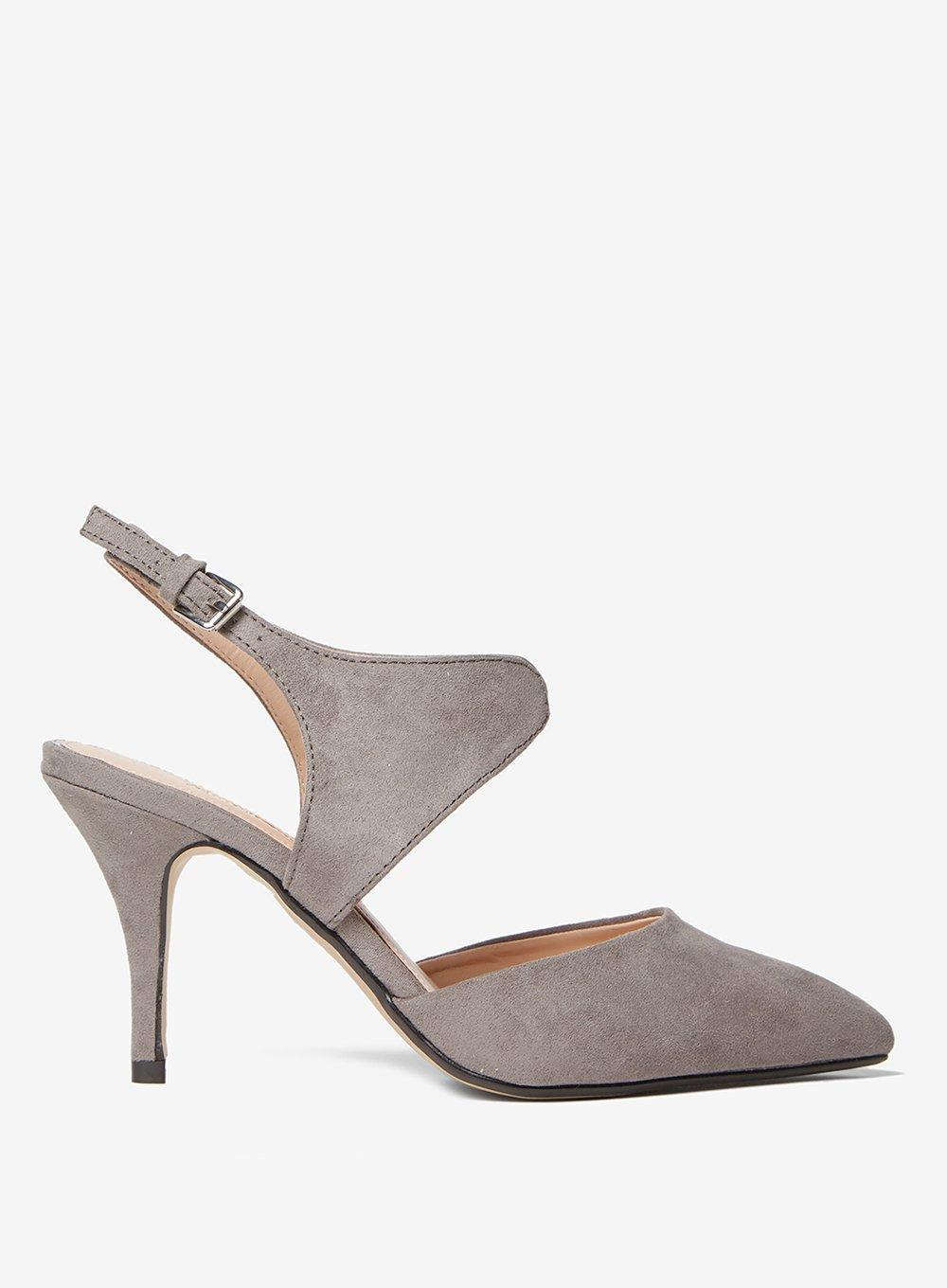 e512f88dbd6 Dorothy Perkins Grey  ginny  Court Shoes in Gray - Lyst