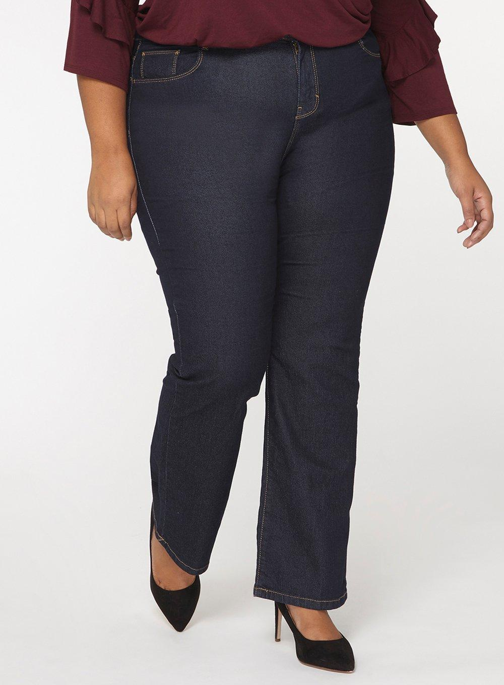 Lyst Perkins Dp Blue Jeans Bootcut 'ashley' Dorothy In Indigo Curve PCvqaPw