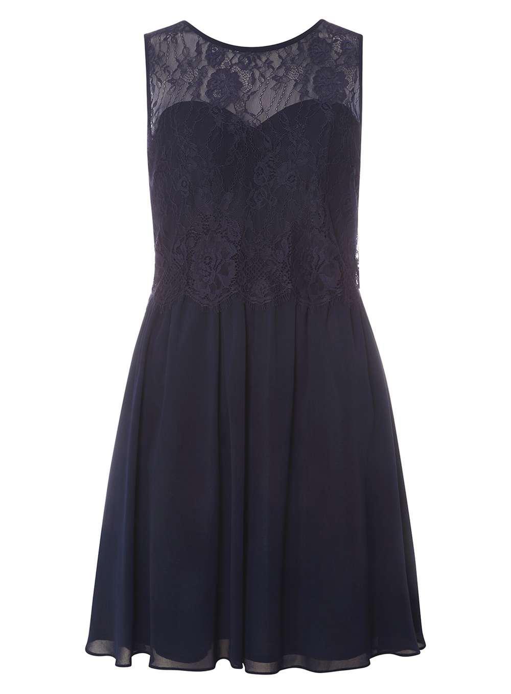 Dorothy Perkins. Women's Blue Showcase Navy 'lola' Prom Dress