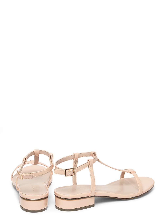 Dorothy Perkins FRANKEE - T-bar sandals - nude OtMVlBTJ