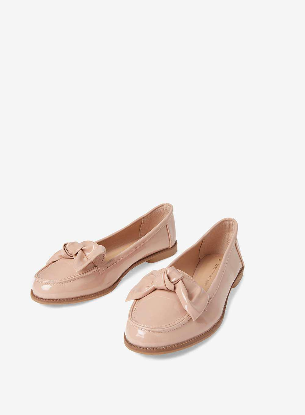 Nude Loafers Lyst 'leena' Perkins Dorothy White In qWqf8EAn