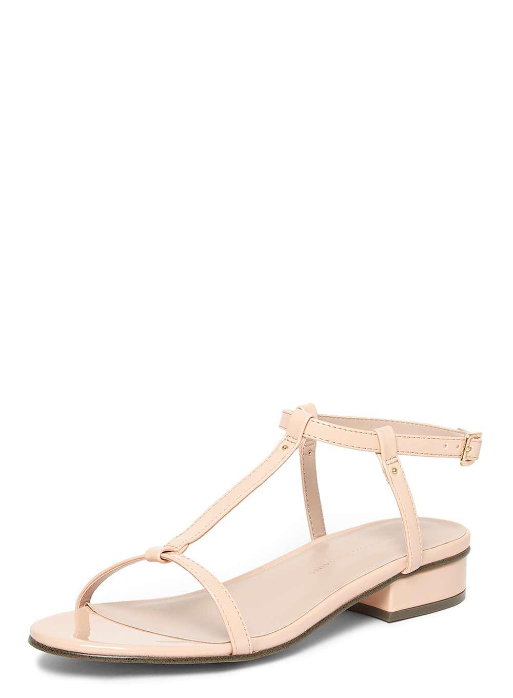 Dorothy PerkinsFRANKEE - T-bar sandals - nude