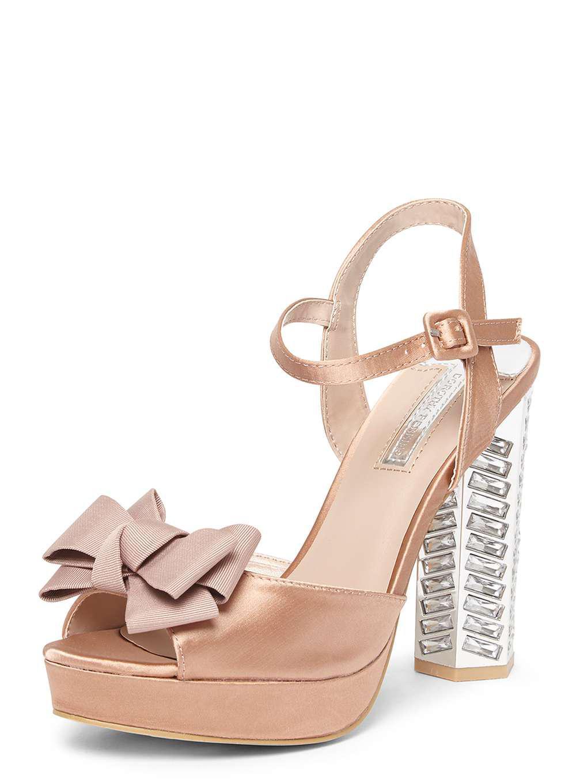 Dorothy Perkins BREA - High heeled sandals - blush IVhJiJCOQ2