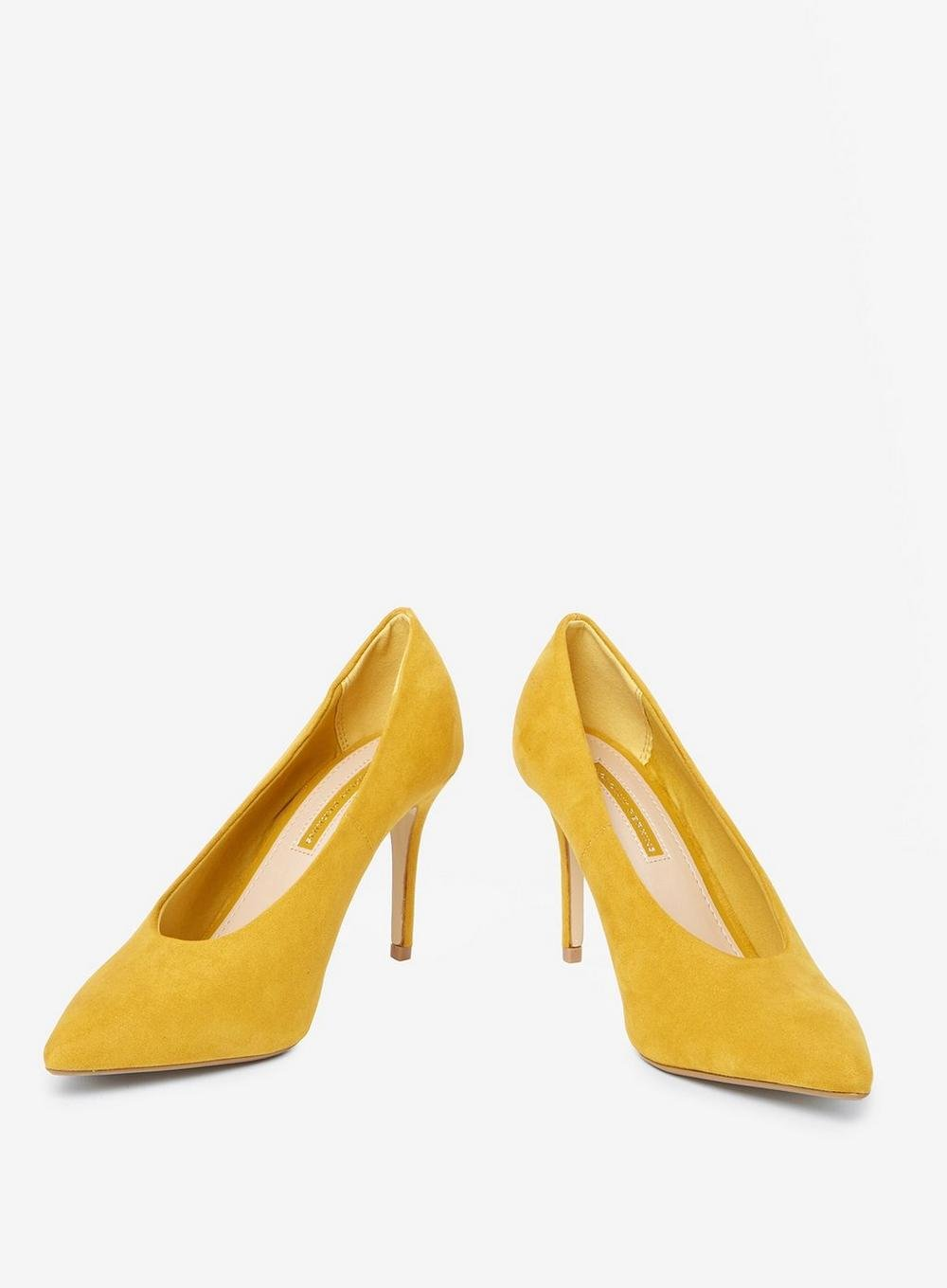 098889d71650 Lyst - Dorothy Perkins Yellow 'gatsby' Court Shoes in Yellow