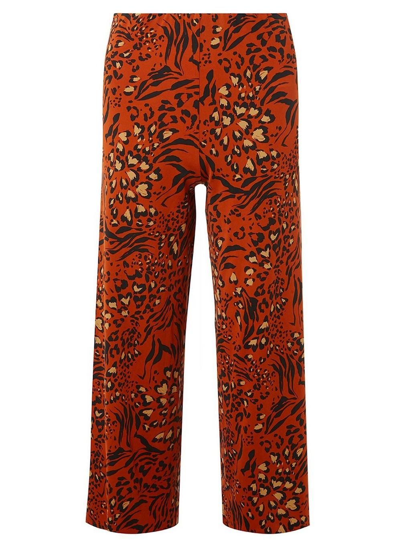 Save Print Orange Pants Petite Perkins Dorothy Palazzo In Leopard 86wTpqvx