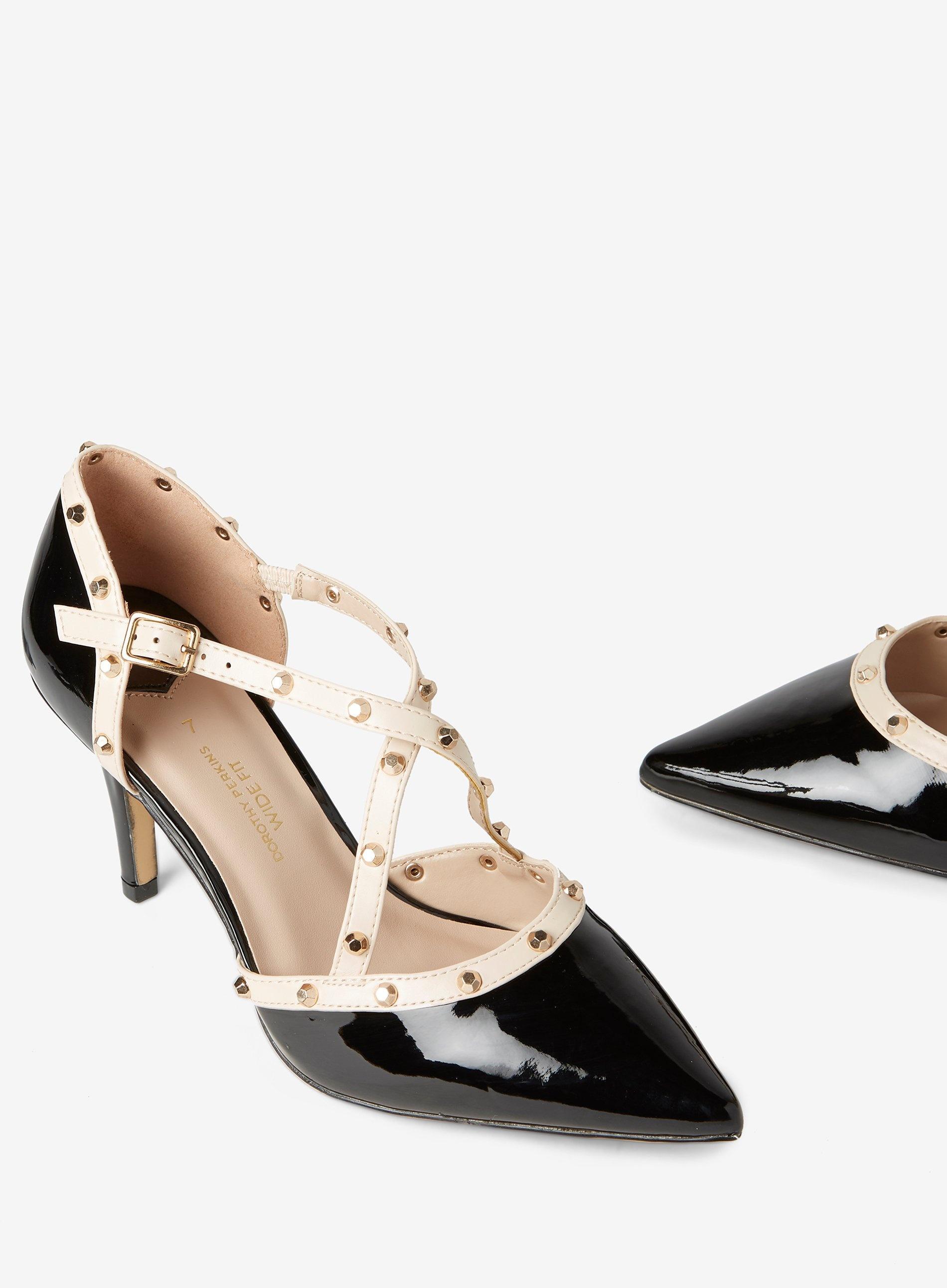 a0b775f63a Dorothy Perkins - Wide Fit Black 'gemalina' Court Shoes - Lyst. View  fullscreen