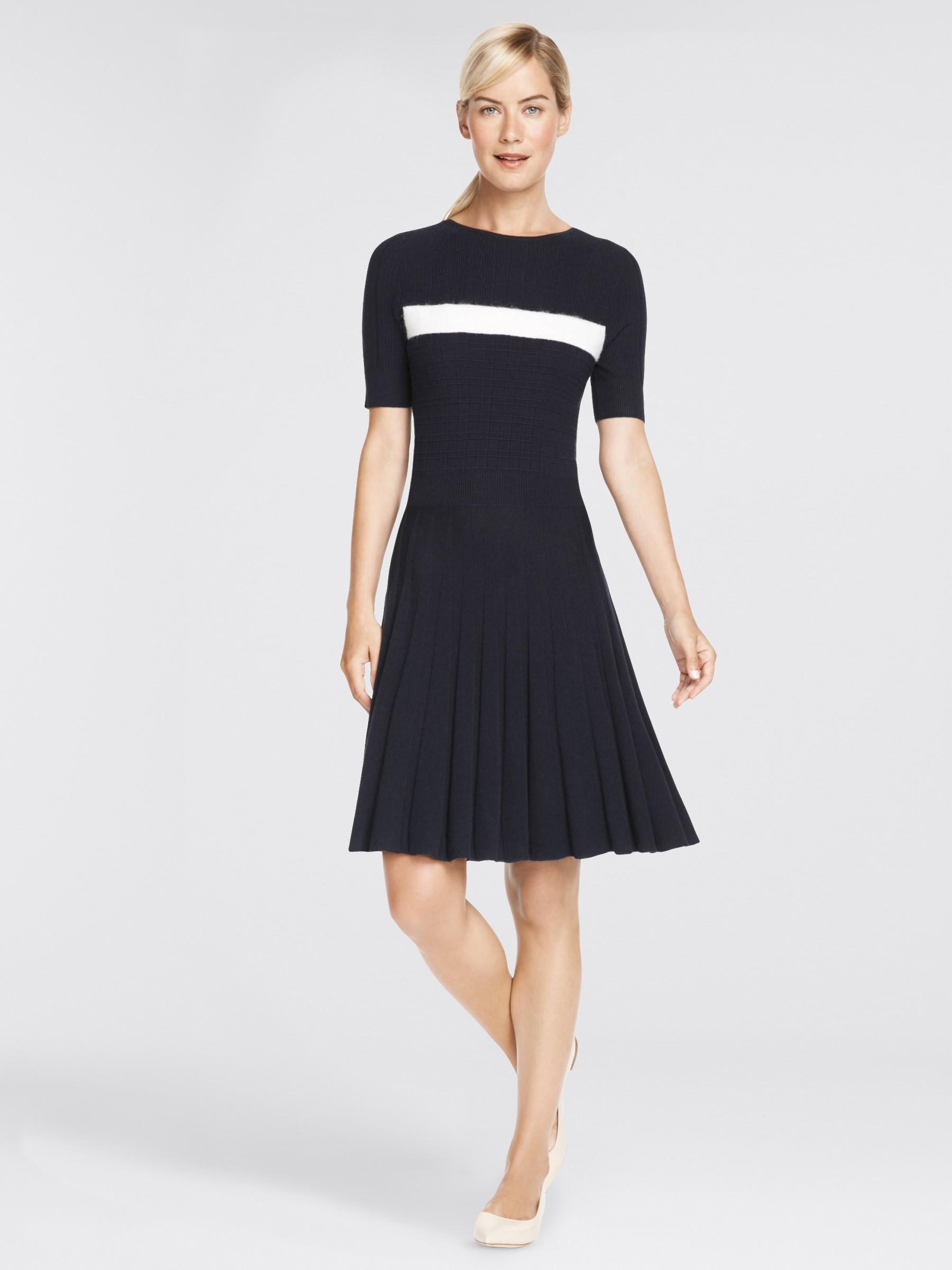 795c6c3c0d Lyst - Draper James Stripe Mohair Sweater Dress in Blue